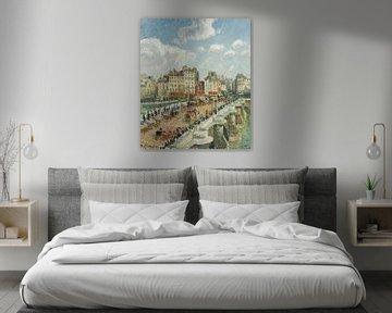 Der Pont-Neuf, Camille Pissarro