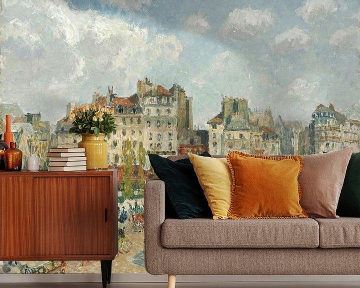 Beispiel fototapete: Der Pont-Neuf, Camille Pissarro