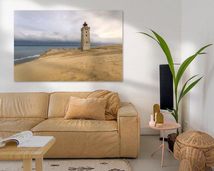 Sfeerimpressie: Rubjerg Knude op Jutland, Denemarken van Erik Borst