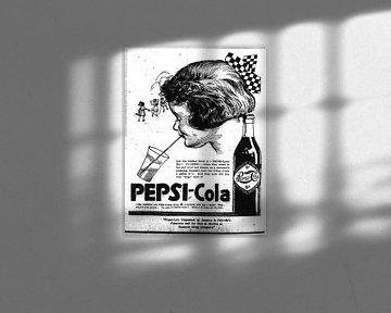 Pepsi Cola Anzeige 1922 von Atelier Liesjes