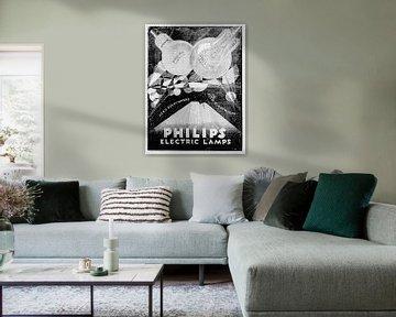 Philips Anzeige 1928 von Atelier Liesjes