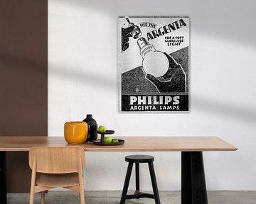 Philips Anzeige 1929 von Atelier Liesjes
