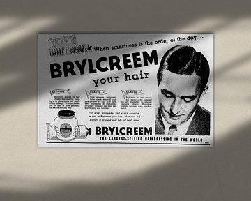 Brylcreem Anzeige 1954 von Atelier Liesjes