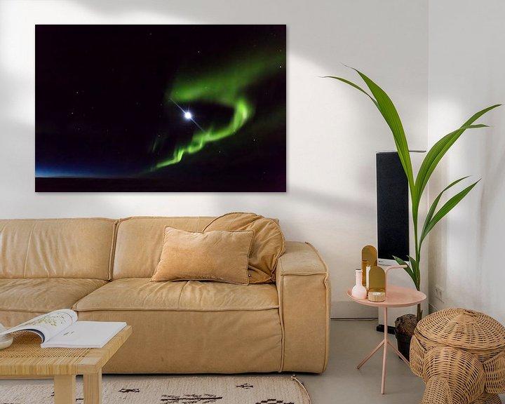 Beispiel: Aurora Borealis von Peter Leenen