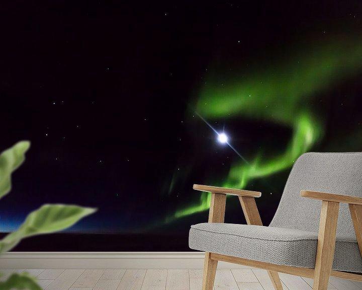 Beispiel fototapete: Aurora Borealis von Peter Leenen