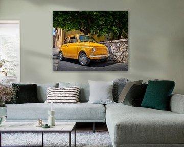 Fiat 500 in Montepulciano von Teun Ruijters