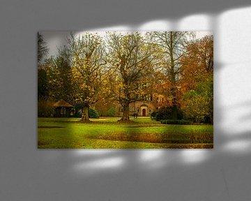 Herbst in den Gärten Van de Keukenhof von Brian Morgan