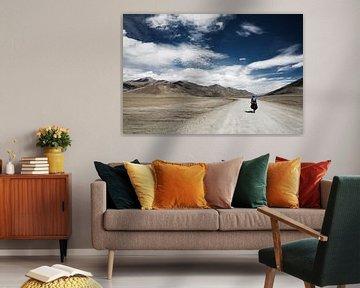 More Plains in India van Ellen van Drunen