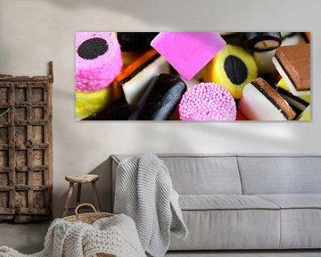 Bonbons colorés à la réglisse sur Sjoerd van der Wal
