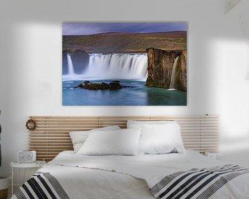 Waterval de Godafoss, IJsland