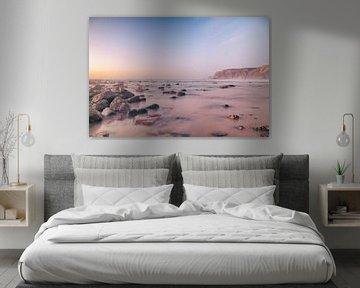 Dromerige zonsondergang van Jacqueline Lemmens
