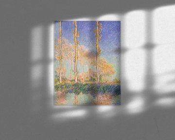 Pappeln, Claude Monet - 1891