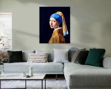 La fille à la perle de Vermeer -  sans craquement sur Maarten Visser