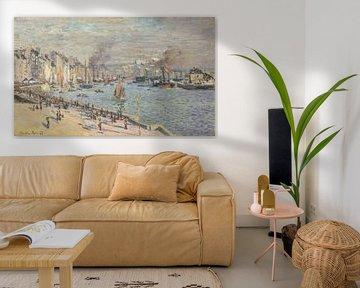 Port du Havre, Claude Monet - 1874