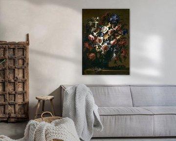 Vase mit Blumen, Juan de Arellano