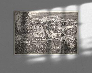 Landschaft mit der Kanone, Albrecht Dürer von De Canon