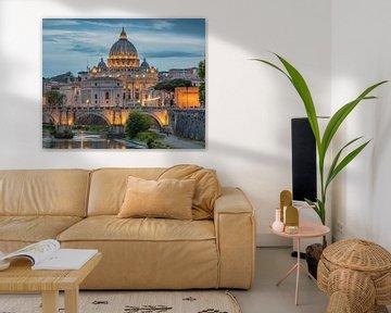 Rome - Basilique de San Pietro sur Teun Ruijters