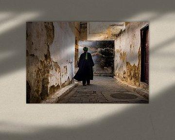 Marokkaanse man in Fez van Paula Romein