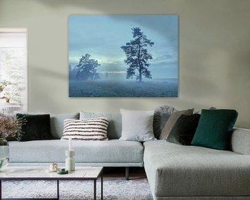 blauw uur van Max Schiefele