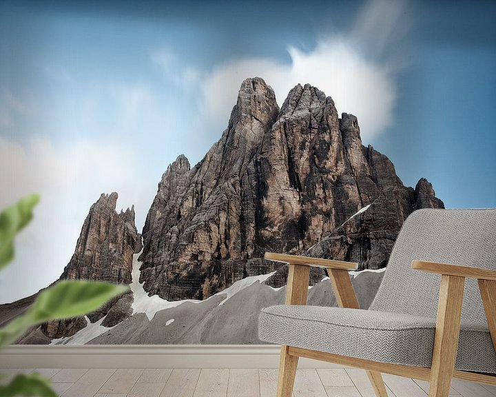 Sfeerimpressie behang: Sextner Dolomites  van Ellen van Drunen