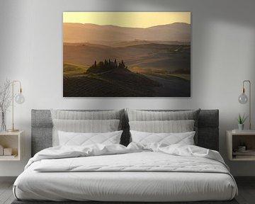 Toscane in de ochtend van Robin Oelschlegel
