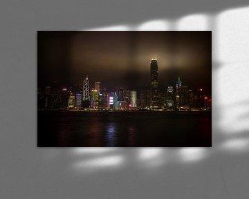Hongkong skyline van StephanvdLinde