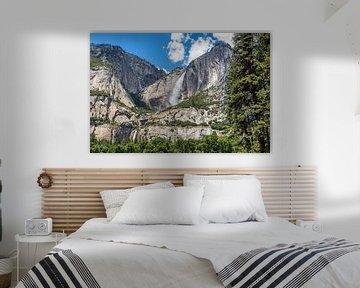 Yosemite Falls van Peter Leenen
