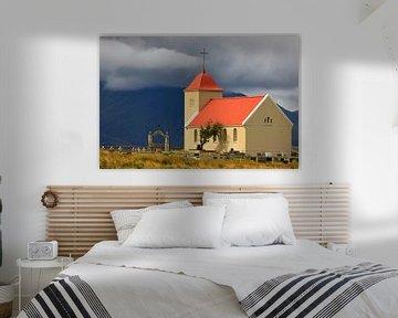 Kerk Kolbeinsstadir, IJsland