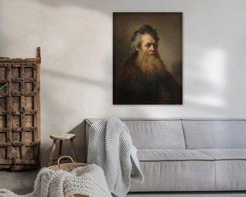 Porträt eines alten Mannes, Rembrandt