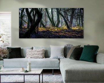 Dansende bomen van Eelke Brandsma