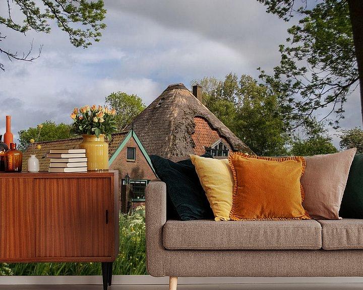Sfeerimpressie behang: Typisch Nederland van Brian Morgan