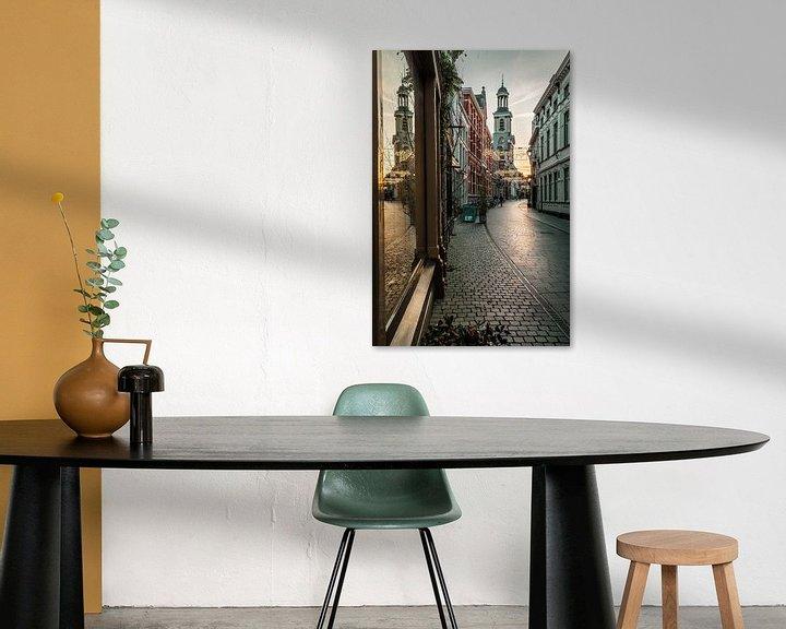 Sfeerimpressie: Warme tinten Sint Janstraat Breda van JPWFoto