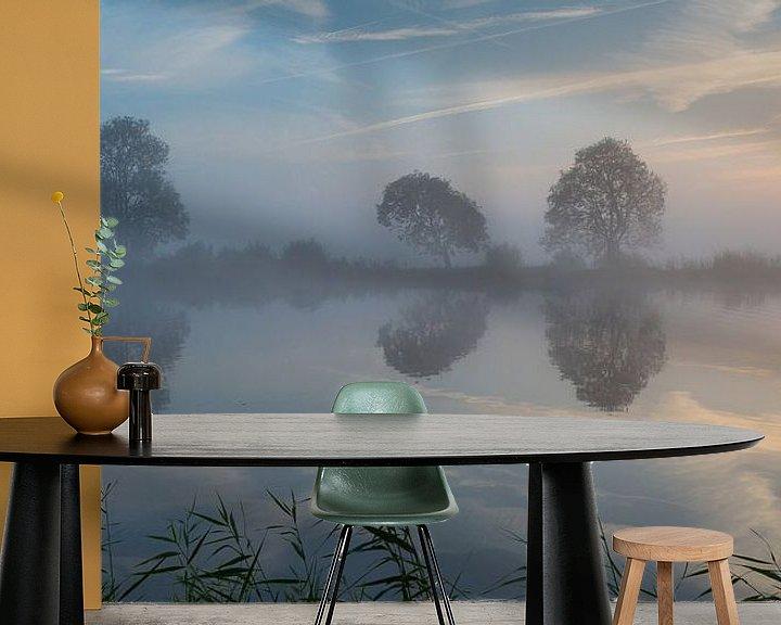 Sfeerimpressie behang: Oktober aan de Amstel van Peter Leenen