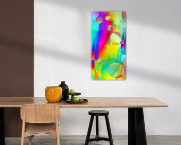 Kleurrijke vreugde van Heidemarie Andrea Sattler