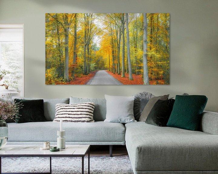 Sfeerimpressie: Herfst op Texel. van Justin Sinner Pictures ( Fotograaf op Texel)