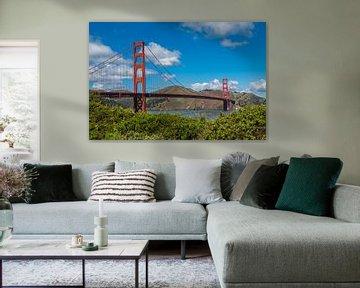 Golden Gate Bridge von Peter Leenen