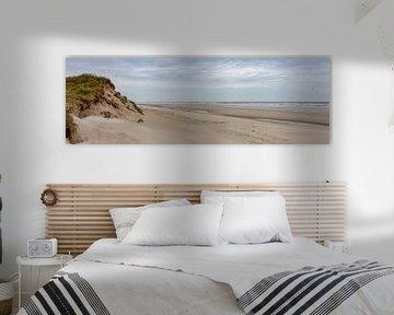 Strand van Terschelling van Evert Jan Kip