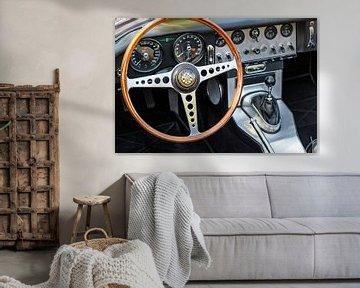 Tableau de bord Jaguar E-Type sur Sjoerd van der Wal