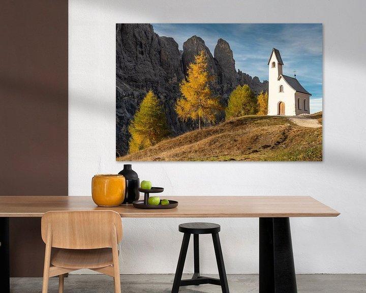 Sfeerimpressie: Kapel in de Dolomieten van John Faber