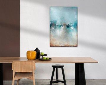 Gefrorener See 12 von Maria Kitano