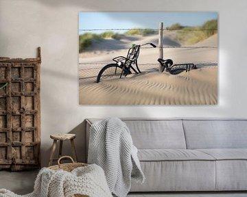 Vélo dans le sable