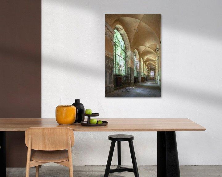 Beispiel: Verlassene Galerie von Frans Nijland