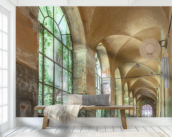 Beispiel fototapete: Verlassene Galerie von Frans Nijland