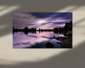 rivier de Ijssel van Jeroen Mondria