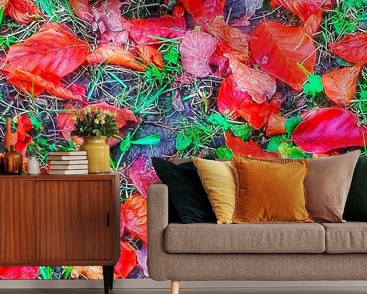 Sfeerimpressie behang: Herfst Glorie van mimulux patricia no