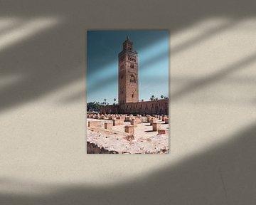 Koutoubia-Moschee von Gijs Gulikers