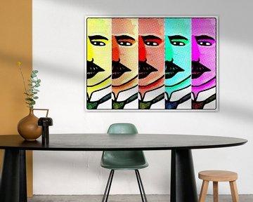 Los Hombres, Motiv 8 von zam art