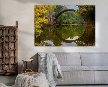 De Rakotzbrücke van Truus Nijland