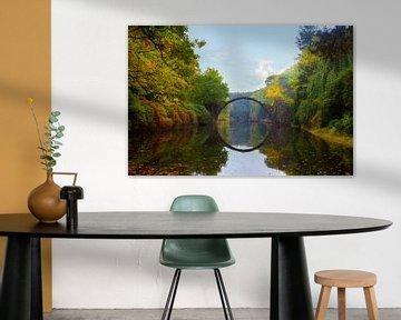 Rakotzbrücke van Truus Nijland