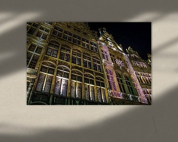 Antwerpen in Weihnachtsstimmung von Scarlett van Kakerken